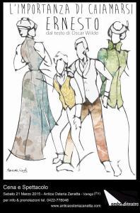 Locandina illustrata da Serena Conti